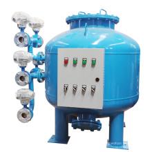 Filtro de arena de tratamiento de agua de lavado automático continuo