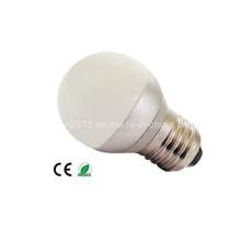 Mini G45 3W LED Lâmpada Home Lamp Daylight E27 B22 E14