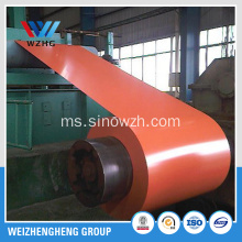 Gegelung PPGL, Coil Steel Coated Warna
