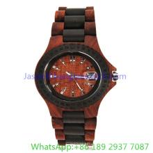 2016 a madeira mais recente relógios de senhora (Ja-15173)