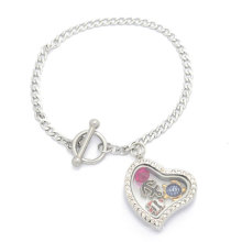 Sterling Argent Cage Or Charme Gros Mode Poupée Pendentif Collier