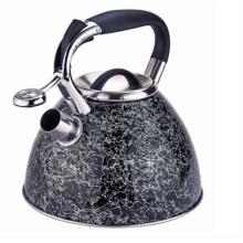 Chaleira de aço inoxidável com alça confortável