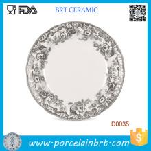 Plaque de poids en céramique classique de dessin de Inkwash chinois