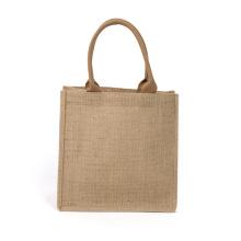 Retro Sen Jute Handbag Shopping Bag Gift Bag Customizable LOGO Waterproof Burlap Jute Bag