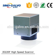 Sino Galvo JD2207 High Speed Scan Head For Laser Metal Engraver Machine