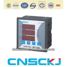 SCD914Z-2X4-3U square120*120 digital three phase AC voltmeter