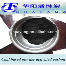 polvo de carbón basado en carbón activado MSDS / carbón de carbón activado en polvo para decolorar