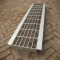 Grilles de couverture de drain de tranchée de drainage d'allée en acier