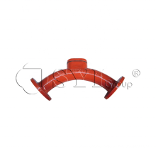 EN598 Double flanged Long Radius 90 degree Ductile Bend Pipe Fittings Reducer Grooved Coupling Pipe Fittings