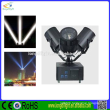 High power 6000w outdoor sky search light/sky tracker light for hotel TV station