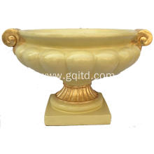 resin material export decorative flower pot