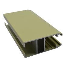powder coating window frame aluminum sliding section