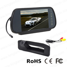7inches Car Mirror Display with Car Backup Reversing Camera