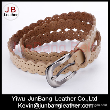 Pancoura de moda PU Leather Jean Belt para mulheres