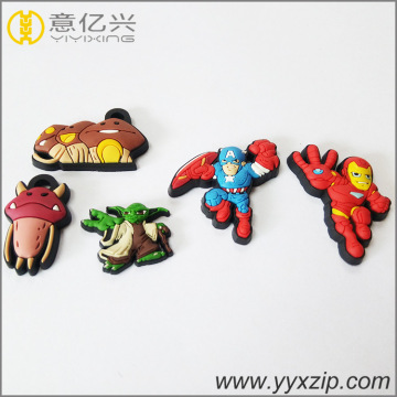 Fashion American Hero Cartoons Simpatico portachiavi in ​​silicone