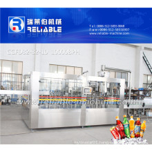 Automatic Carbonated Water Filling Line / Soft Drink Filling Machine