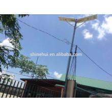 100 watt luz solar led rua Lâmpadas de pé ao ar livre para o jardim