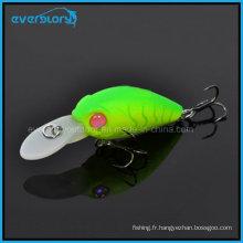 Hot a Mini Swinger leurres de pêche durs à manivelle chine 35mm 3.8g manivelle Bkk profondeur de crochet 1.6-2 m matériel de pêche à la carpe