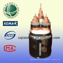 El mejor vendedor 10kV XLPE aisló el cable acorazado de la CC de la energía 300mm2 de STA