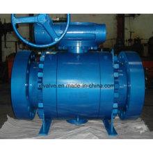 Válvula de esfera de extremidade de flange forjada de alta pressão ANSI