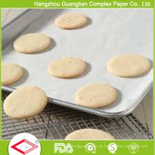 FDA-zugelassenes Gemüse Silikonisiertes Backen-kochendes Papier im Ofen