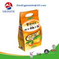 Emballage en plastique stratifié en feuille métallisée pour aliments