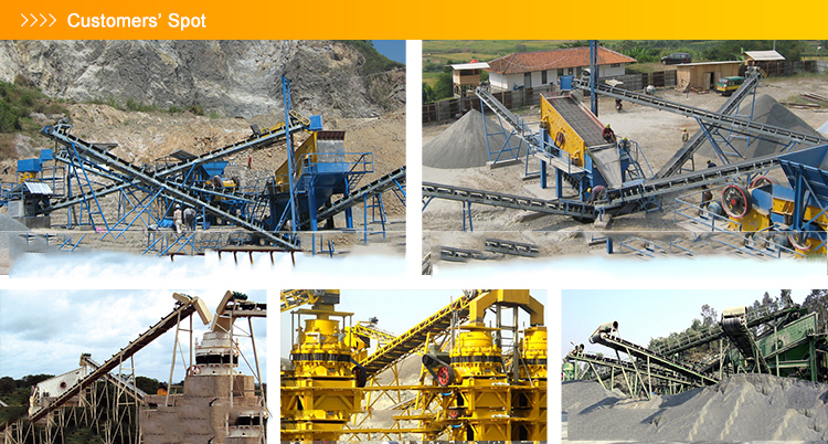Case cone crushing plant