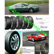 O PCR 185 / 70r13 do pneumático do passageiro cansa o pneu de carro