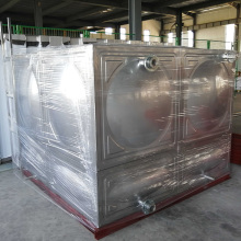 304 Stainless Steel Water Pressure Tank Square Water Tank With Insulating Layer