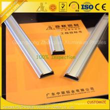 El OEM sacó aluminio del perfil del LED para el tubo de las tiras del LED