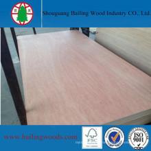 18mm Hardwood Core Okoume Commercial Plywood