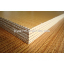 melamine faced hpl plywood wood color(walnut wenge oak birch)