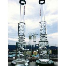 23 Inche K42 Roor 3 Honeycomb und Birdcage Percolator Glaspfeife, Rauchen Wasser Rohr