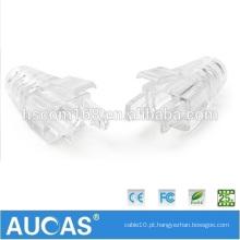 Rj45 plug terminator ethernet cat 5e / cat6 / cat7 conector rj 45 cabo modular rj 45 conectores botas