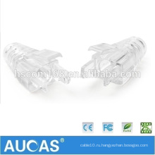 Rj45 штекер терминатор ethernet cat 5e / cat6 / cat7 разъем rj 45 кабель модульный rj 45 коннектор ботинки