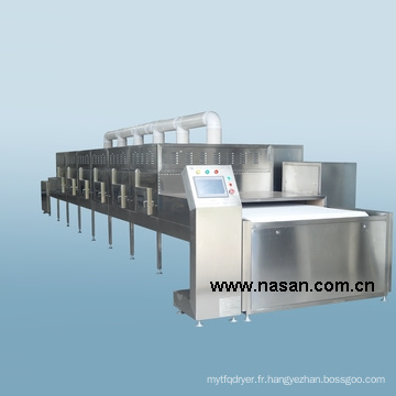 Nasan Fournisseur Micro-ondes Shell Drying Equipment