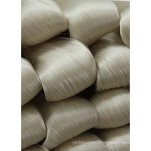 Soie blanche crue de mûrier de 100% pour l'habillement 20 / 22D 27 / 29d 40 / 44D
