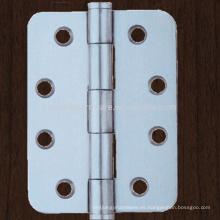 Puerta de madera de acero inoxidable sin bisagra de puerta de bola con bisagra de conner redondo
