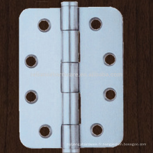 Porte en bois inox sans charnière de porte à billes avec charnière ronde