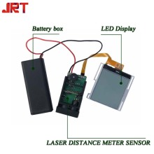 Модуль лазерного счетчика среднего диапазона с светодиодным дисплеем 60 м
