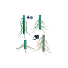 Отводной трубопроводный трубопровод с наружным контуром
