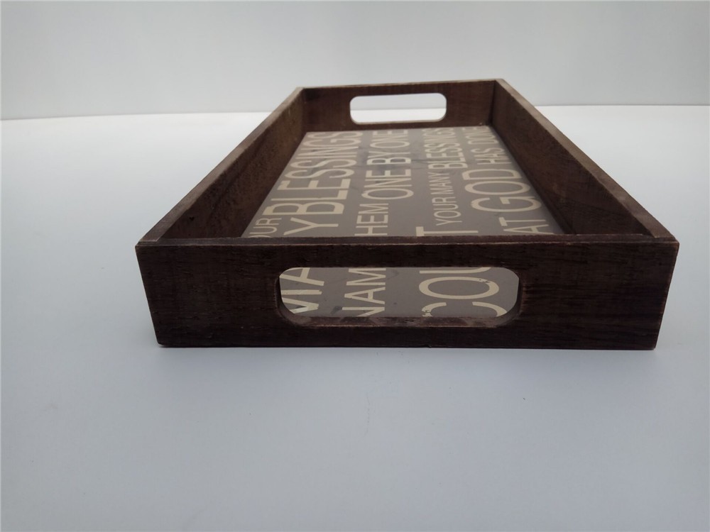 high quality wooden tray
