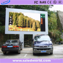 LED Video Wall 8mm 1r1g1b Single Pole Installation