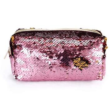 GLITTER DOUBLE COLOR SEQUIN PENCIL CASE-0