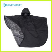 Luz peso durável moda impermeável poliéster chuva ponchos