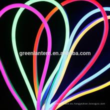 Luz LED flexible AC 220V 240V SMD 2835 LED Tubo de neón Lámpara de cuerda de tubo de tablero de señal impermeable