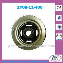 Piezas del coche Mazda M3 Motor 1.6 Motor Polea del cigüeñal ZY08-11-400