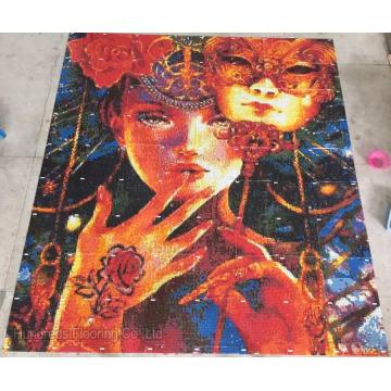 Glas Kunst Mosaik Muster für Wandfliese (HMP907)