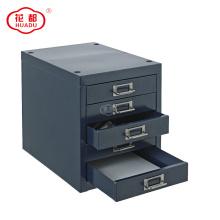 5 Drawers Metal Steel Desktop Drawer For Office