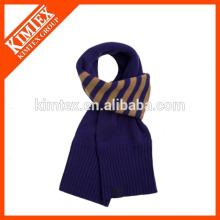 2016 Hot sale men knit acrylic scarves wholesale